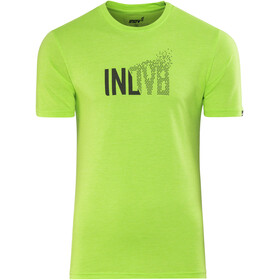 inov-8 M's AT/C Triblend Transition SS Shirt green